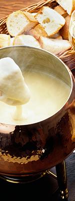 100分飲放 【チーズ5種の濃厚フォンデュコース】3,980円(税込)